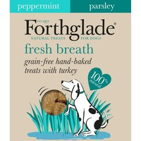 Forthglade Grain Free Fresh Breath Dog Treats (Turkey) big image