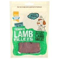 Good Boy Pawsley & Co Tender Lamb Fillets 80g big image