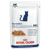 Royal Canin Vet Care Nutrition Neutered Adult Maintenance Pouches for Cats big image