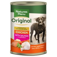 Natures Menu Original Adult Dog Food Cans (Chicken with Salmon) big image