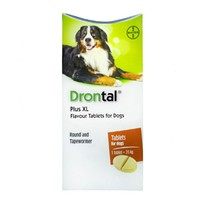 Drontal Plus XL for Dogs Worming Tablets big image