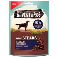 Purina Adventuros Mini Steaks with Venison 100g big image
