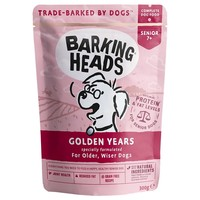 Barking Heads Adult Wet Dog Food Pouches (Golden Years) big image