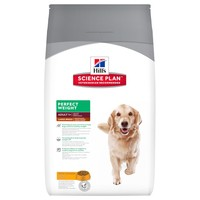 Hills Science Plan Perfect Weight Large Breed Adult Dog Food 12kg (Chicken) big image