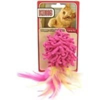 Kong Moppy Ball With Feathers big image