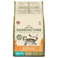 Harringtons Complete Senior Dry Cat Food (Chicken) 2kg big image