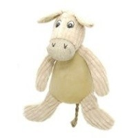 Danish Design Doris the Natural Donkey Dog Toy big image