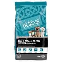 Burns Adult Toy & Small Breed Dog Food (Chicken & Rice) big image