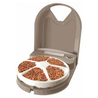 Eatwell 5 Meal Digital Pet Feeder for Cats and Dogs big image