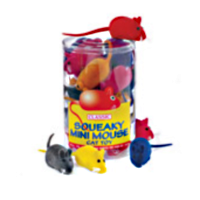 Classic Squeaky Mouse Cat Toy big image