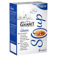 Purina Gourmet Soup Multipack with Tuna Pouches (40 x 40g) big image