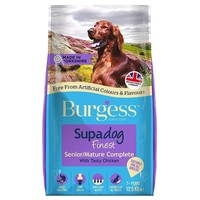 Burgess Supadog Senior/Mature Dog Food (Chicken) 12.5kg big image