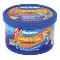 King British Turtle and Terrapin Complete Food 200g big image