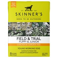 Skinners Field and Trial Puppy & Junior Wet Dog Food (Chicken & Garden Veg) big image