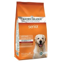 Arden Grange Senior Dog Dry Food (Chicken & Rice) big image