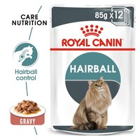 Royal Canin Hairball Care Pouches in Gravy Adult Cat Food big image
