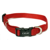 Canac Adjustable Dog Collar Red big image