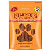 Pet Munchies Duck & Sweet Potato Treats for Dogs 90g big image