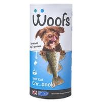 Woofs Cod Granola Dog Treat 100g big image