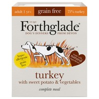 Forthglade Grain Free Complete Adult Wet Dog Food (Turkey) big image