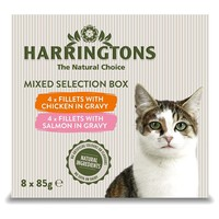 Harringtons Complete Wet Food Pouches for Adult Cats (Mixed Selection Box) big image