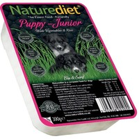 Naturediet Puppy / Junior Dog Food 18 x 390g (Chicken/Lamb/Veg/Rice) big image