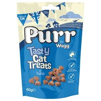 Purr Tasty Cat Treats with Tuna 60g big image