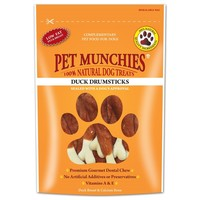 Pet Munchies Duck Drumsticks for Dogs 100g big image