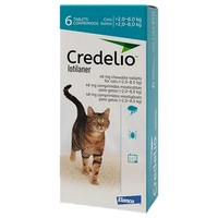 Credelio 48mg Chewable Tablets for Cats (6 Pack) big image