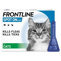 FRONTLINE Spot On Flea and Tick Treatment for Cats big image