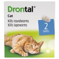 Drontal Cat Worming Tablets big image
