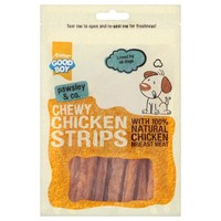Good Boy Pawsley & Co Chewy Chicken Strips big image