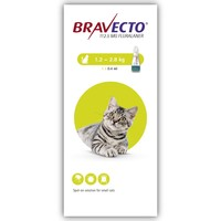 Bravecto 112.5mg Spot-On Solution for Small Cats (Single Pipette) big image