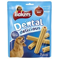 Bakers Dental Delicious with Beef (Medium Dog) big image