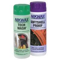 Nikwax Tech Wash / SoftShell Proof (Twin Pack) big image