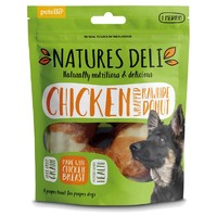 Natures Deli Chicken Wrapped Rawhide Donut 75g big image