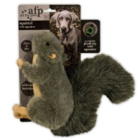 AFP Plush Squirrel Squeaker Dog Toy (Small) big image