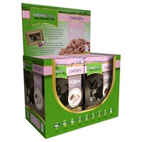 Natures Menu Kitten Food 12 x 100g Pouches (Chicken) big image