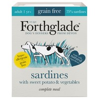 Forthglade Complete Meal Grain Free Dog Food (Sardine) big image