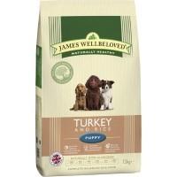 James Wellbeloved Puppy Turkey and Rice big image