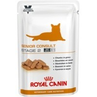 Royal Canin Senior Consult Stage 2 Cat Food Pouches 12 x 100g big image