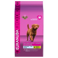 Eukanuba Dog Food Weight Control Large Breed 12Kg big image