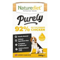 Naturediet Purely Wet Food for Dogs (Chicken) big image