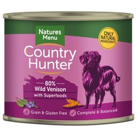 Natures Menu Country Hunter Dog Food Cans (Wild Venison) big image