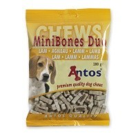Antos Mini Bones Lamb Dog Treats 200g big image