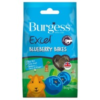 Burgess Excel Blueberry Bakes 80g big image