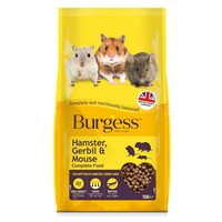 Burgess Hamster, Gerbil & Mouse Complete Food 750g big image