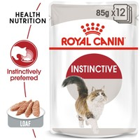 Royal Canin Instinctive Adult Cat Food Pouches in Loaf big image