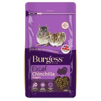 Burgess Excel Adult Chinchilla Nuggets 1.5kg big image