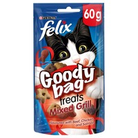 Felix Goody Bag Treats (Mixed Grill) 60g big image